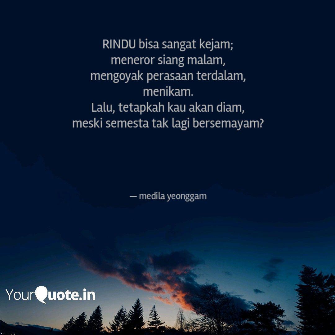Best Rindu Quotes Status Shayari Poetry Thoughts