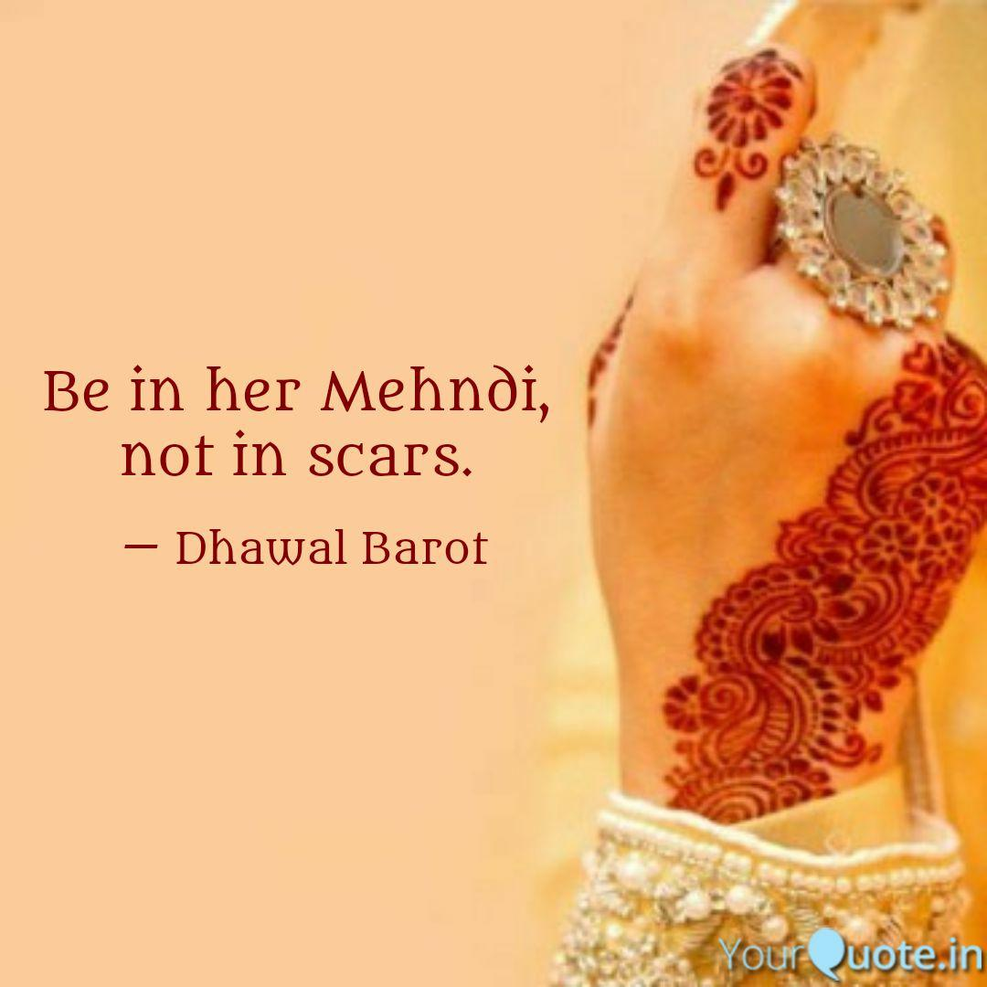 Best mehndi Quotes, Status, Shayari, Poetry \u0026 Thoughts
