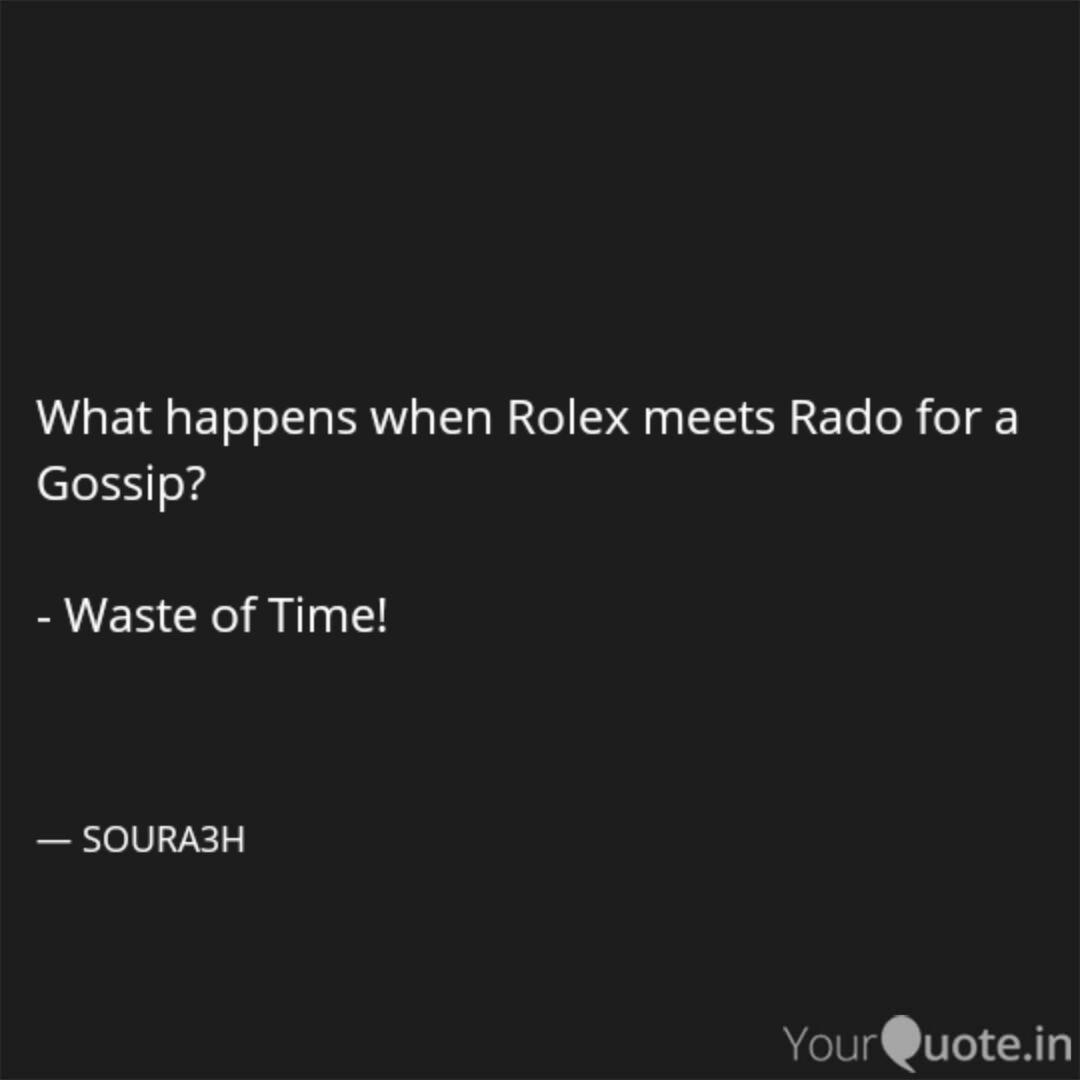 Best Rolex Quotes Status Shayari Poetry Thoughts