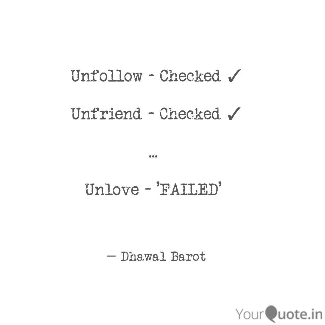 Best unfriend Quotes, Status, Shayari, Poetry & Thoughts ...