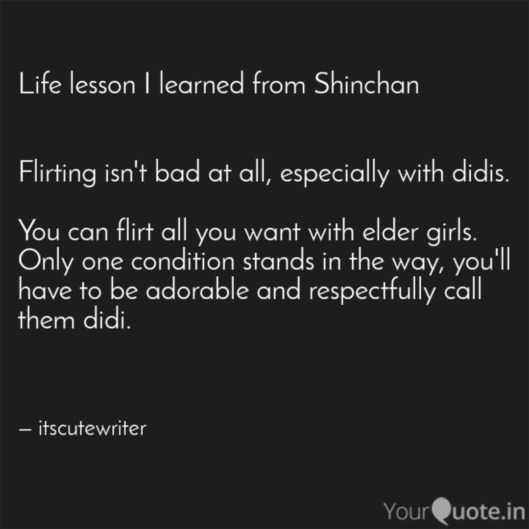 Best Shinchan Quotes Status Shayari Poetry Thoughts