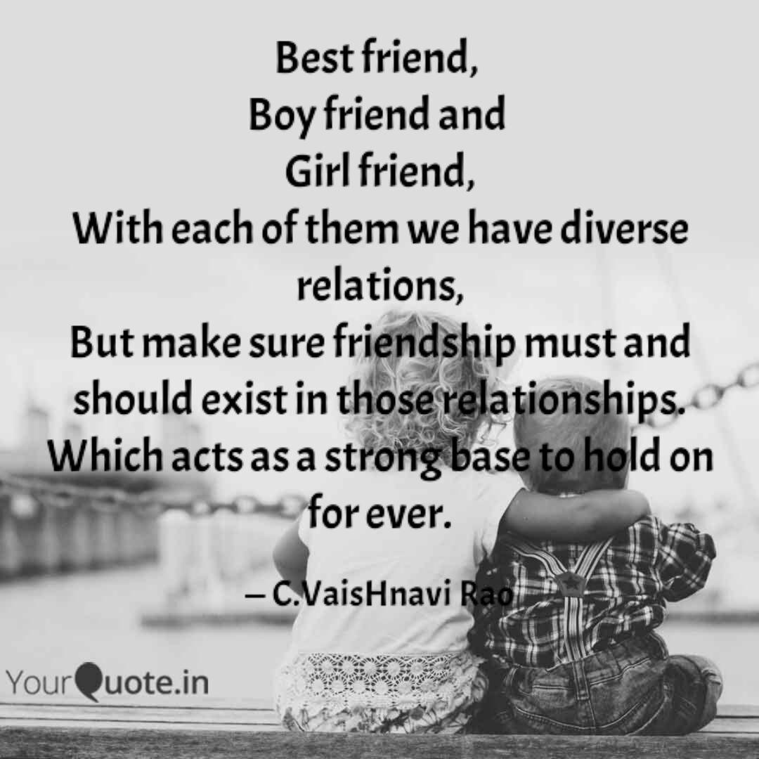 Boy and girl best friends quotes