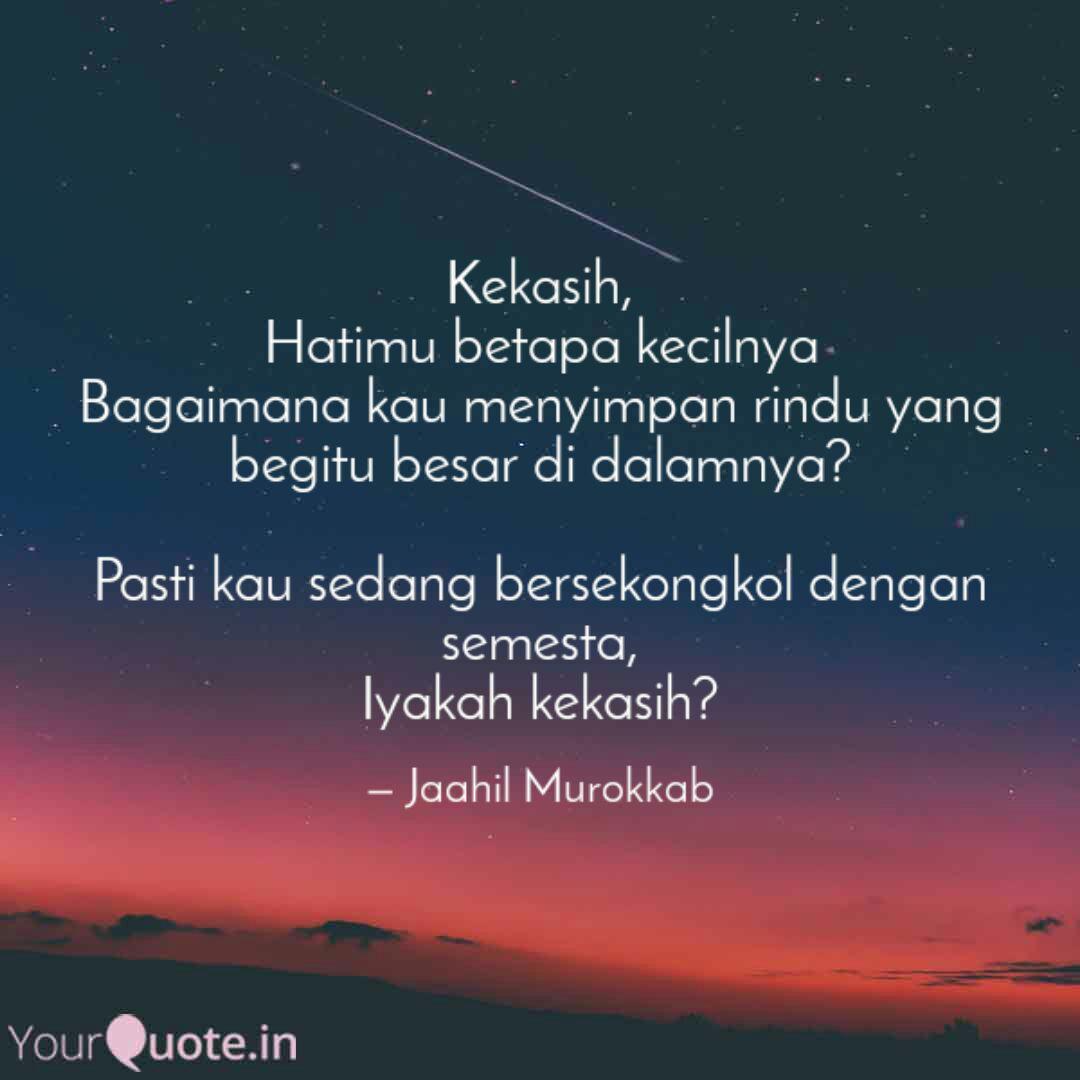 kekasih hatimu betapa ke quotes writings by dirja wiharja