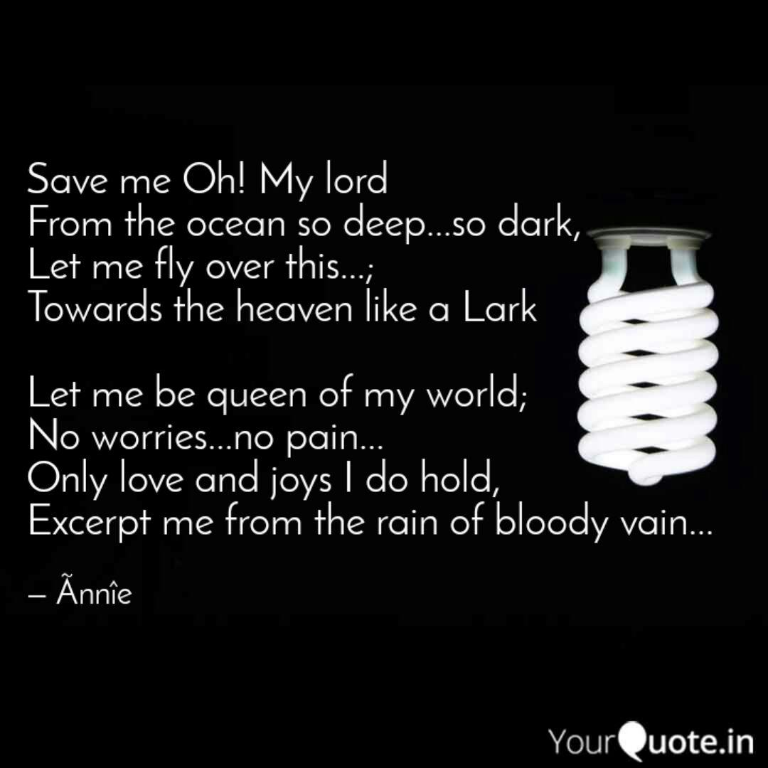 Save me Oh! My lord From...   Quotes & Writings by Ankita ...