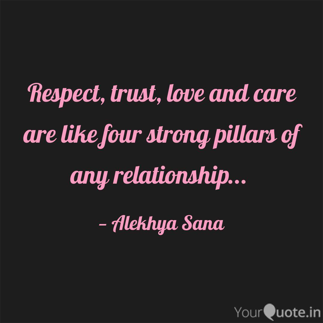 Respect Trust Love And Quotes Writings By Alekhya Sana Yourquote
