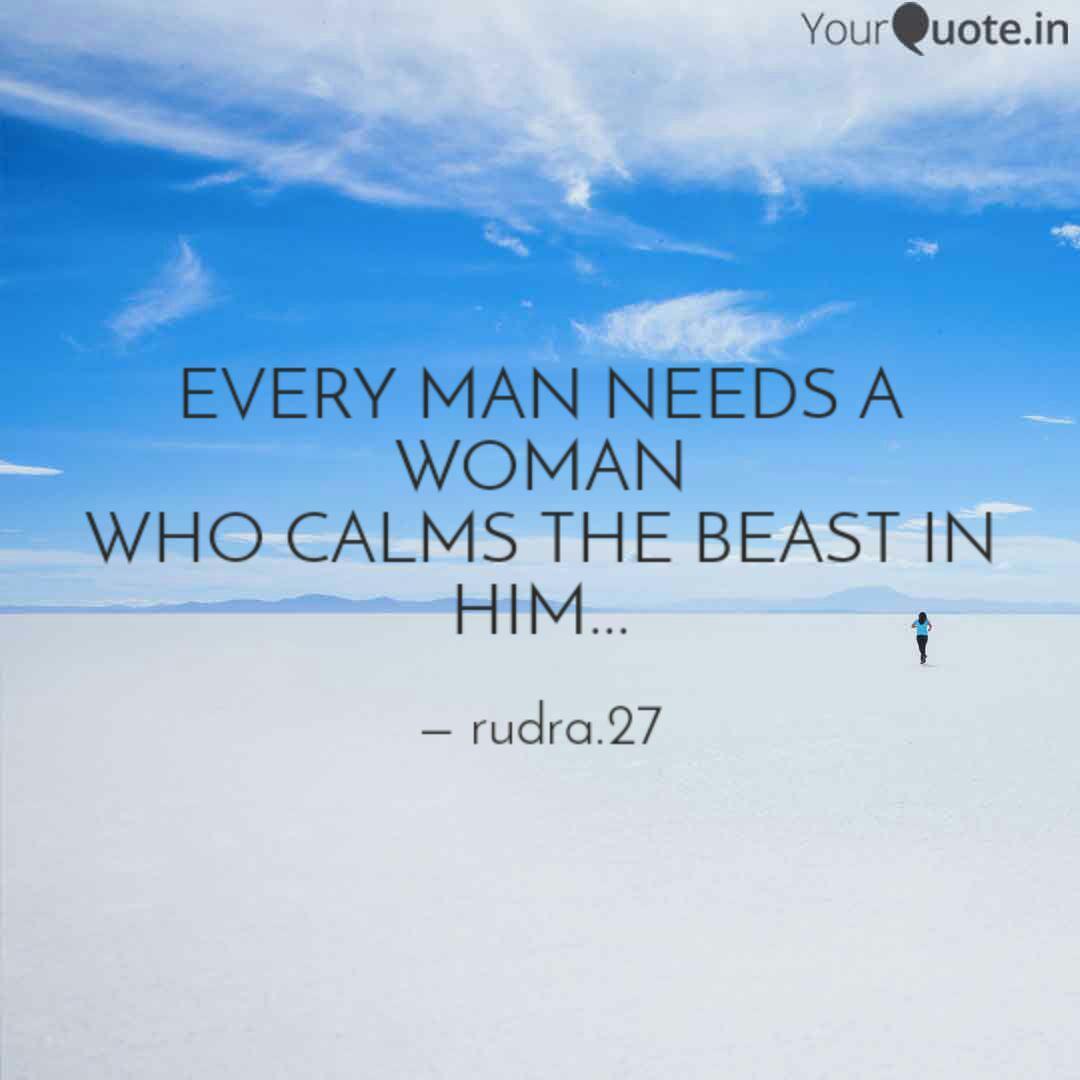I dont need any man quotes