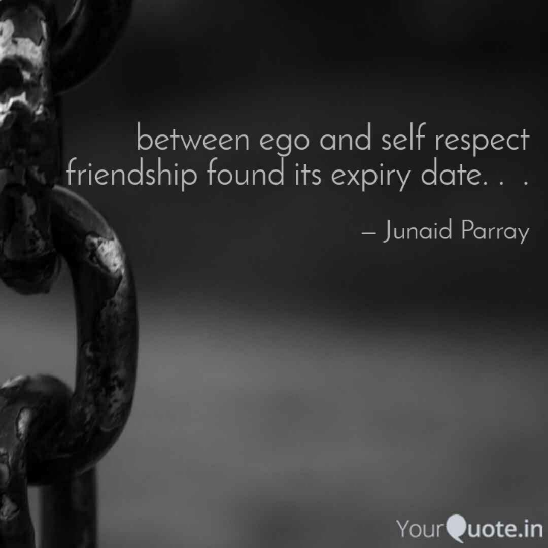 between ego and self resp quotes writings by junaid parray