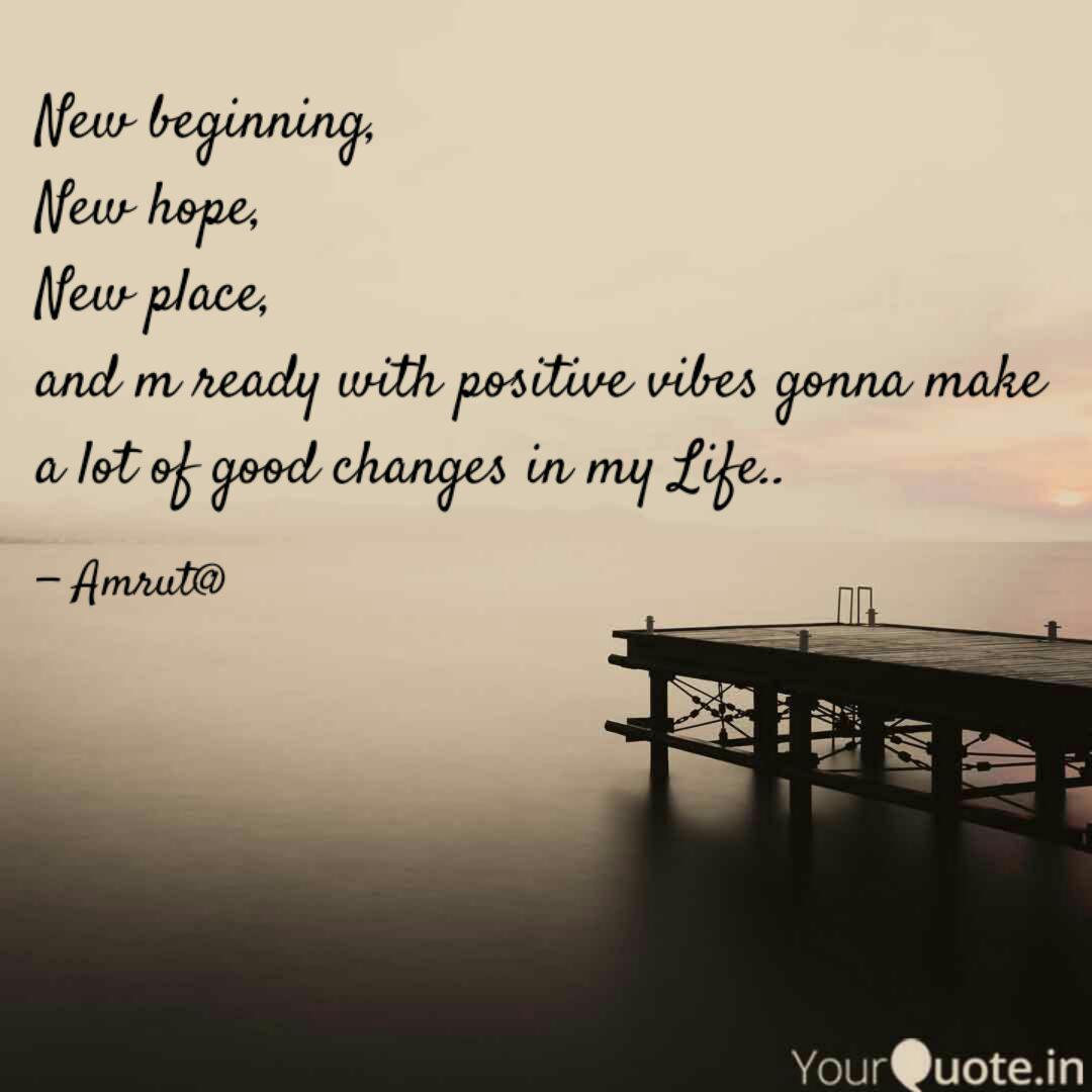 New Beginning Quotes About Change In Life