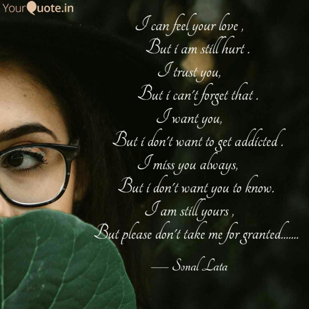 I Can Feel Your Love Quotes Writings By Sonal Lata