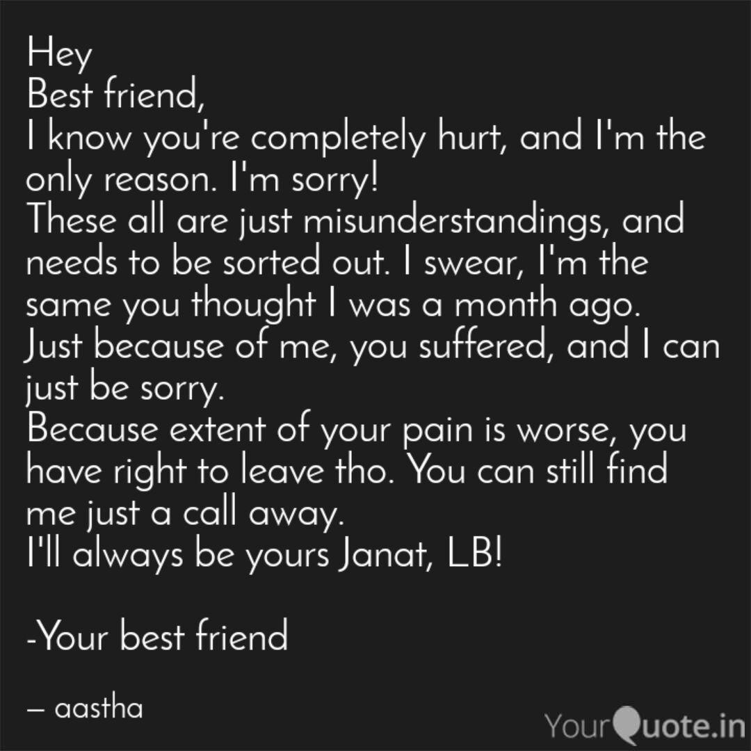 Hey Best friend, I know y... | Quotes & Writings by aastha ...