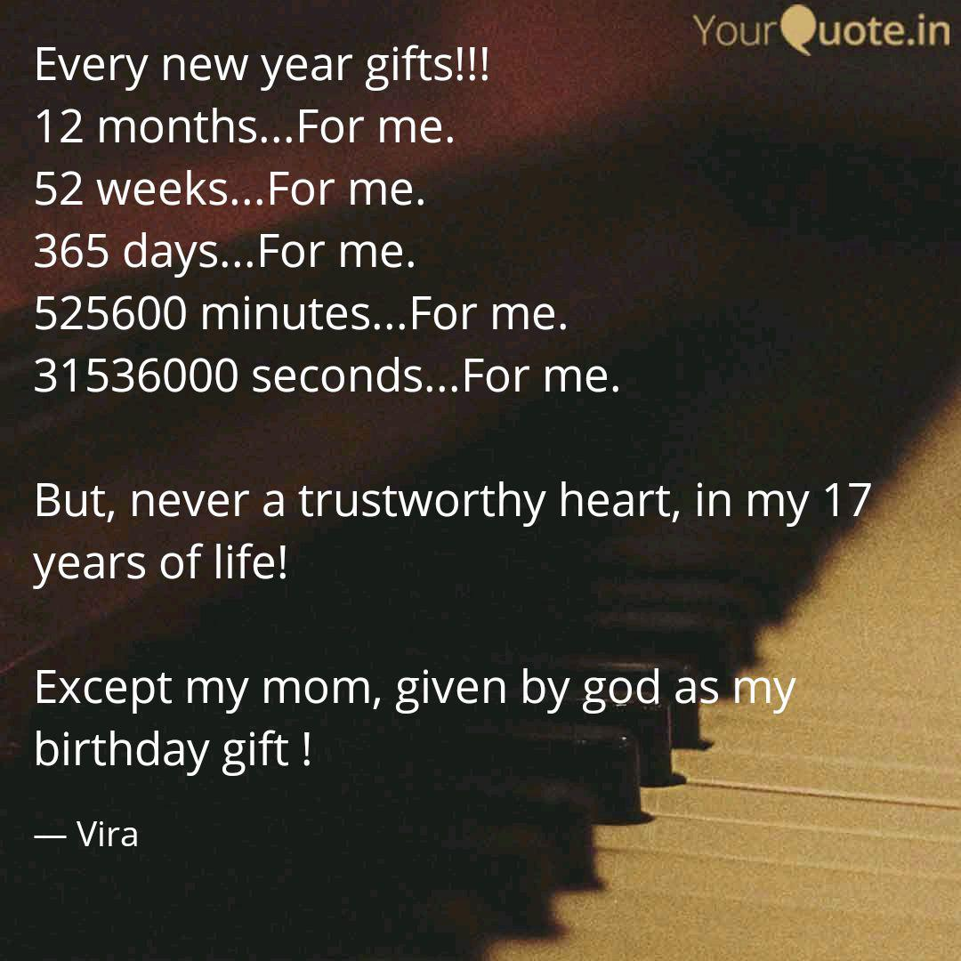 every new year gifts quotes writings by vidya ramesh