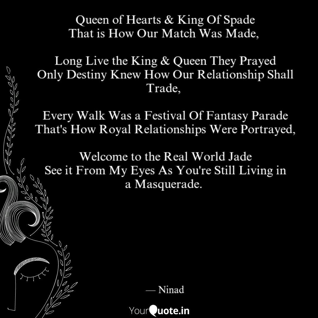 Queen of Hearts & King Of... | Quotes & Writings by Nex Gen ...