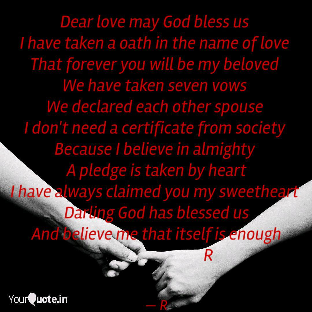 dear love god bless u quotes writings by r c yourquote
