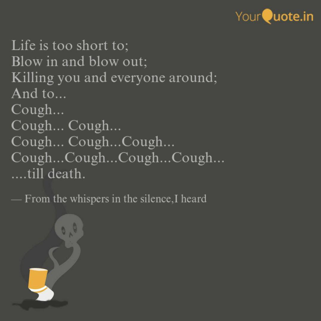 Best Cough Quotes Status Shayari Poetry Thoughts