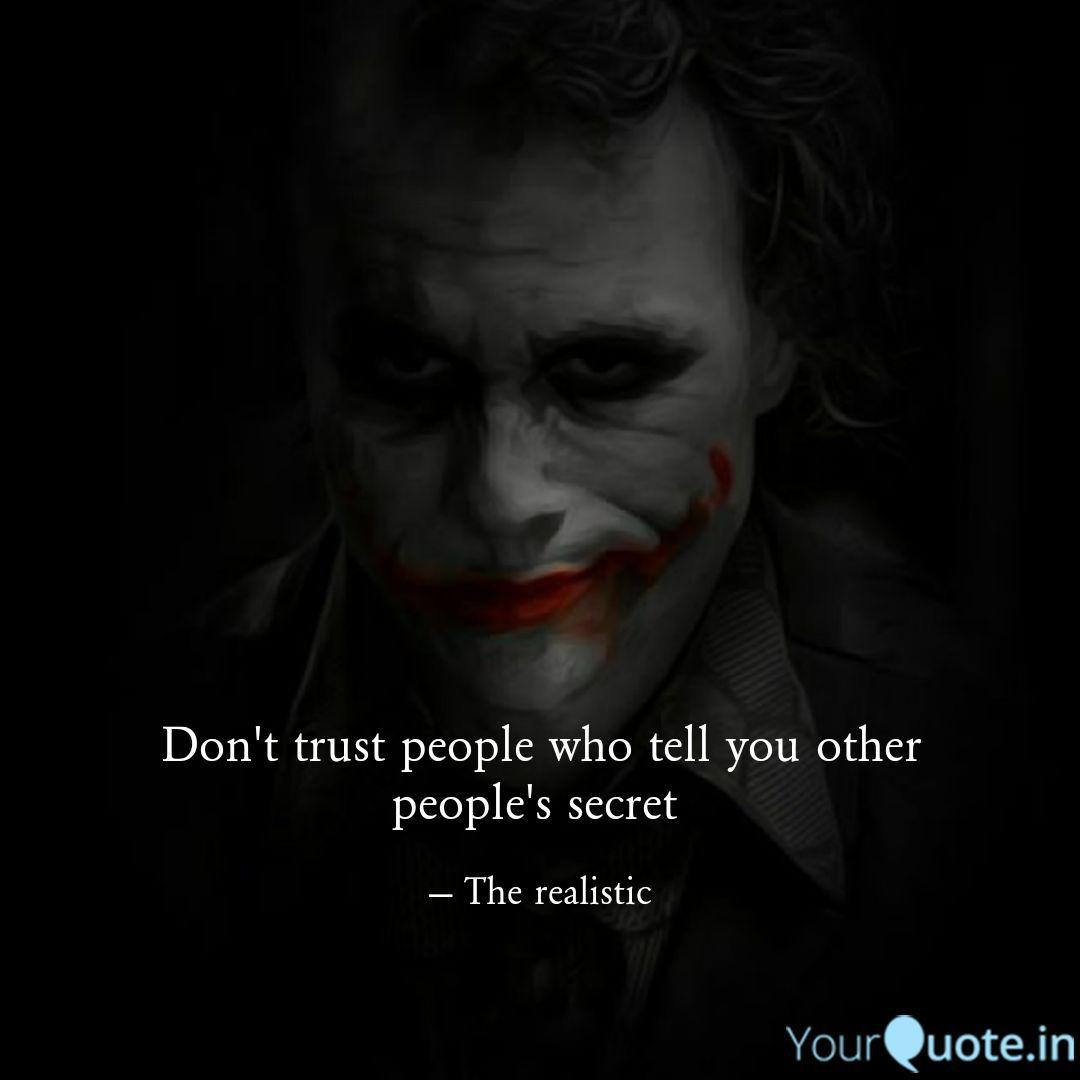 don t trust people who te quotes writings by rafi bin