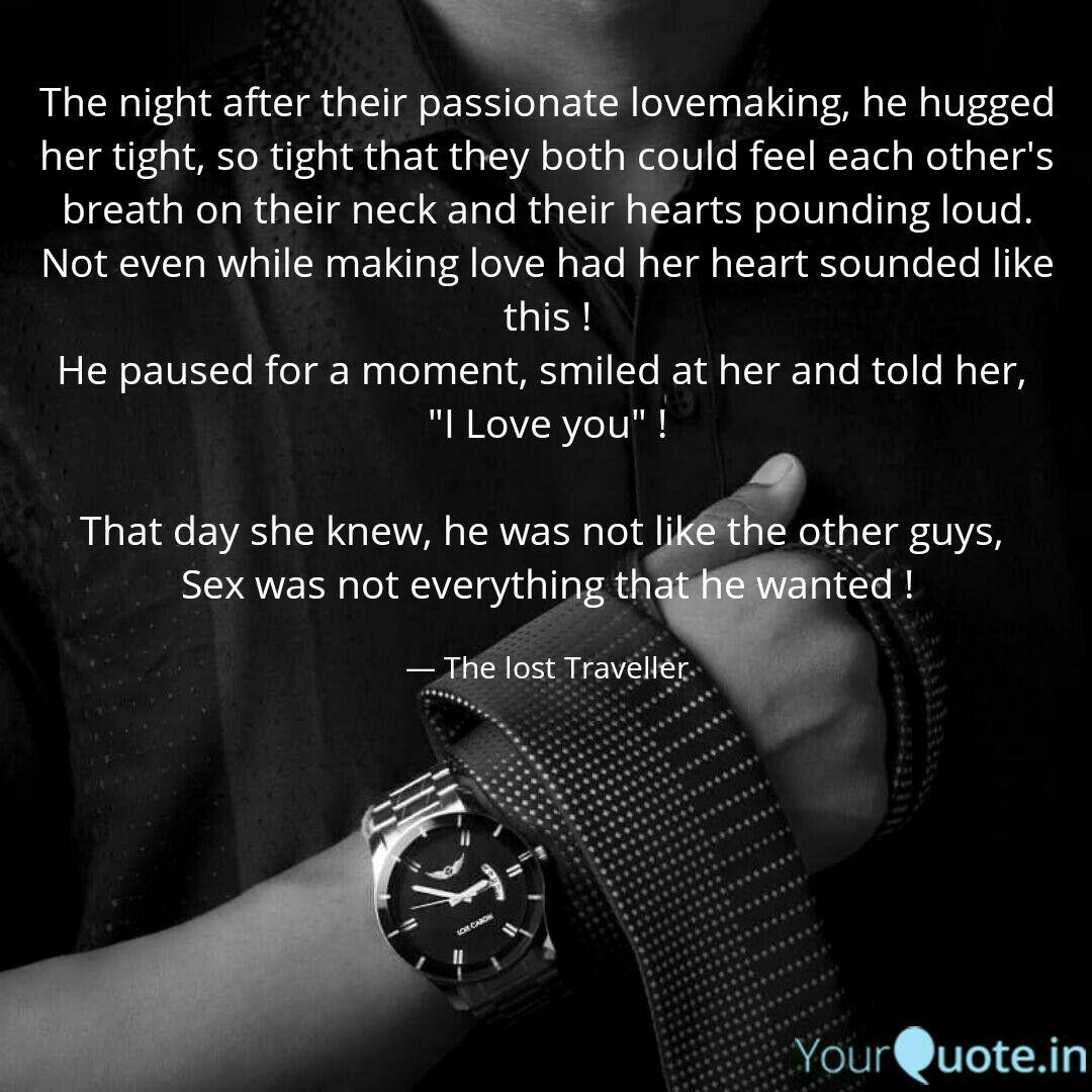 The night after their pas... | Quotes & Writings by ...