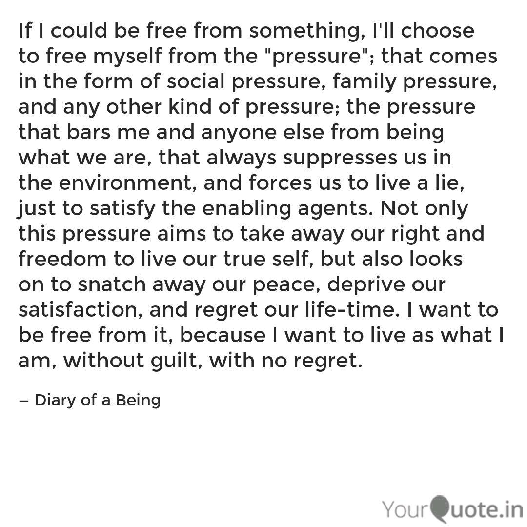 diary of a being quotes yourquote