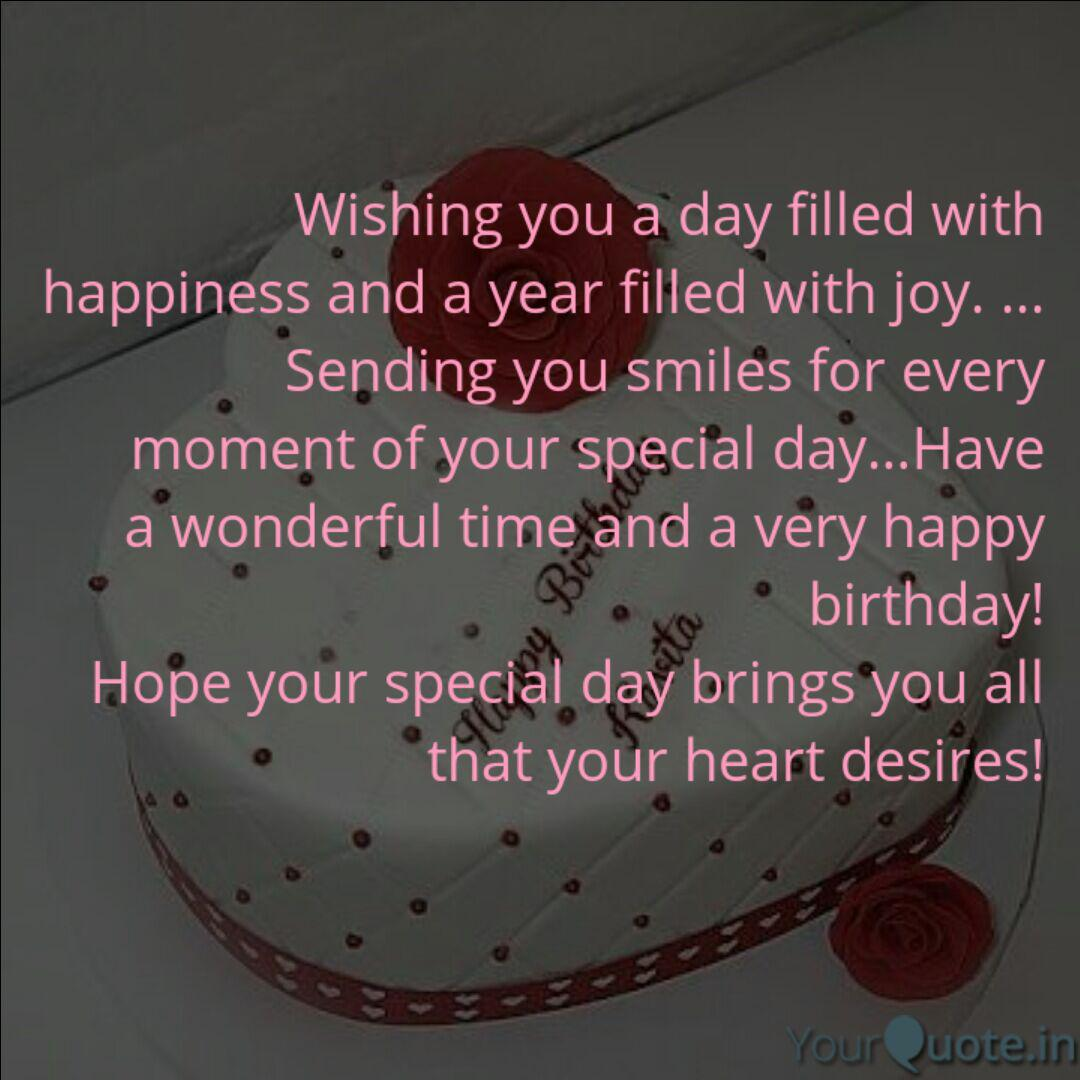 Wishing you a day filled ...   Quotes & Writings by Arpit ...