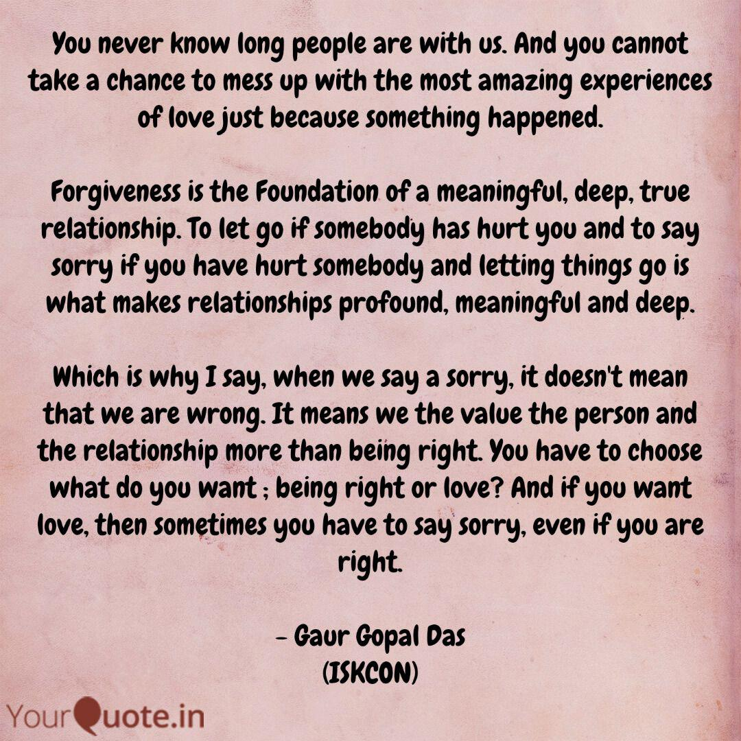 You never know long peopl... | Quotes & Writings by ...