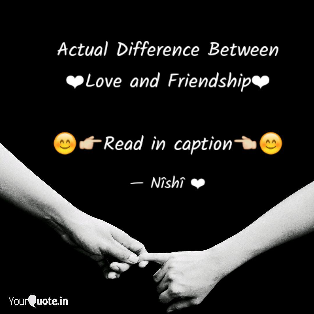 Actual Difference Between... | Quotes & Writings by Nishi ...