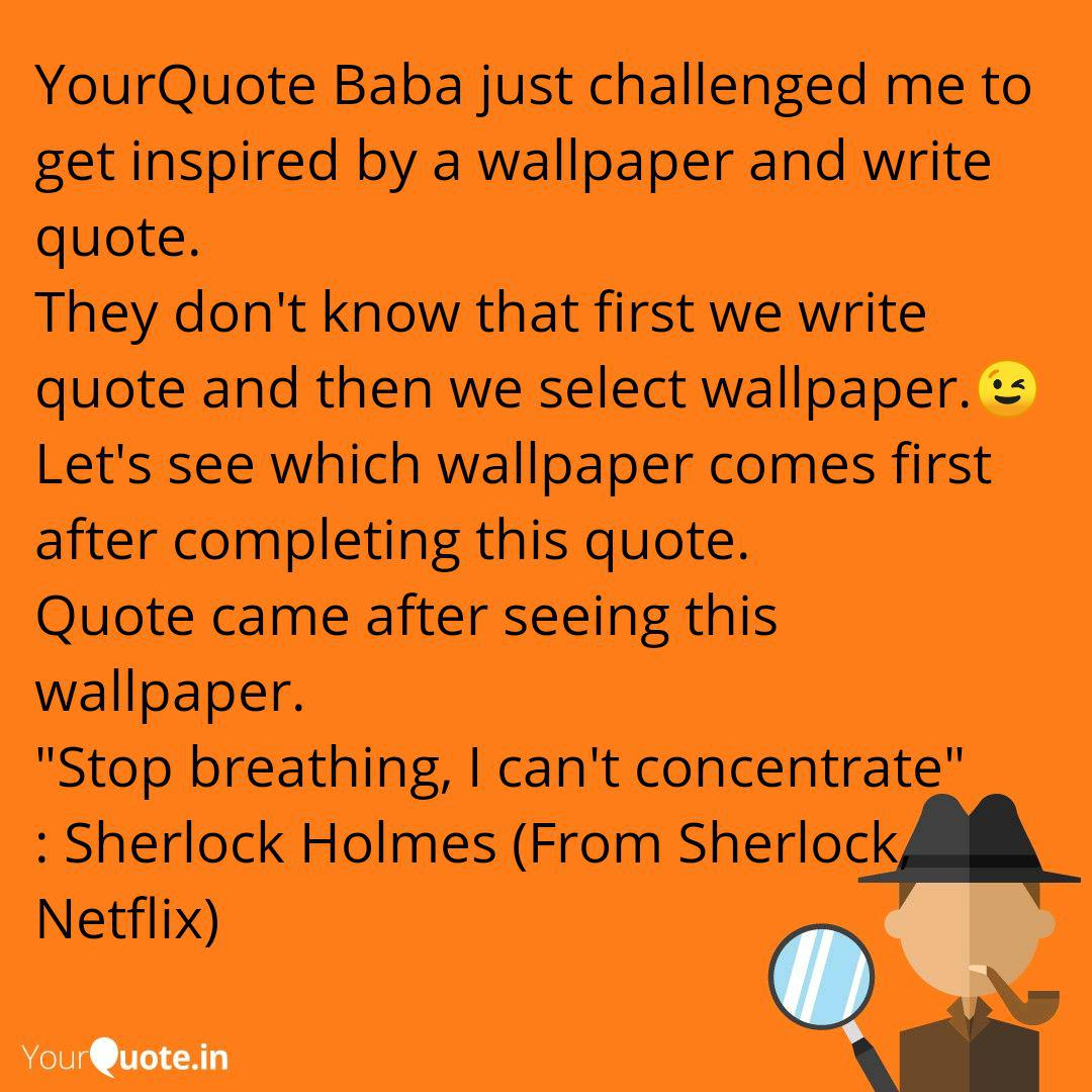 Yourquote Baba Just Chall Quotes Writings By Akash