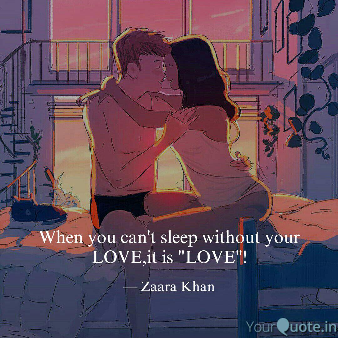 When you can\'t sleep with... | Quotes & Writings by Zaara ...