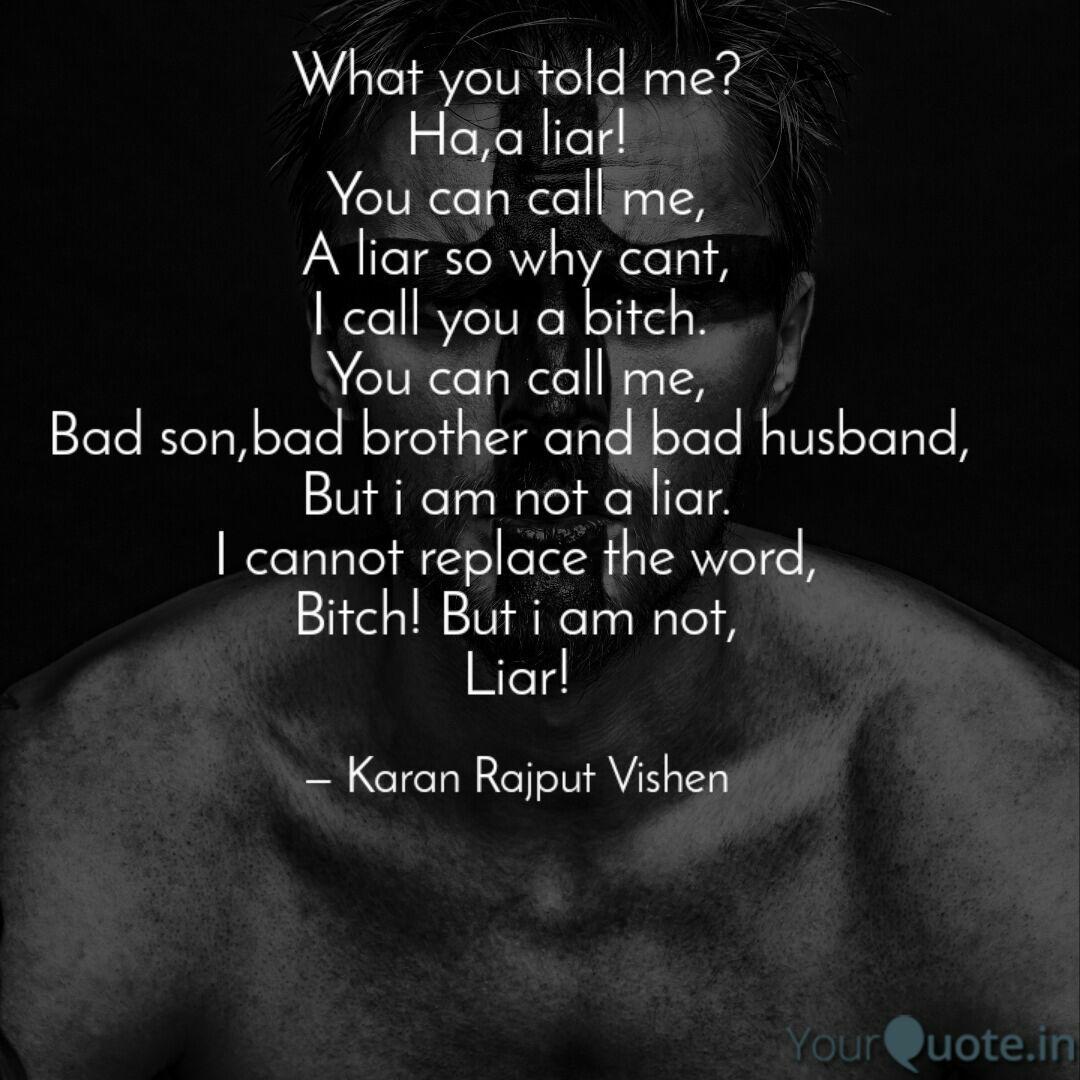 what you told me ha a li quotes writings by karan kumar
