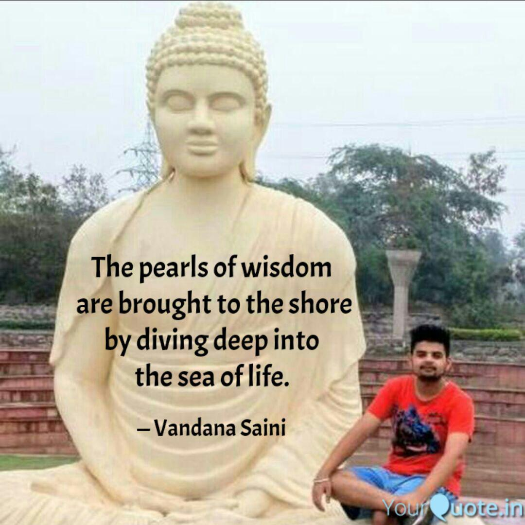 the pearls of wisdom are quotes writings by vandana saini