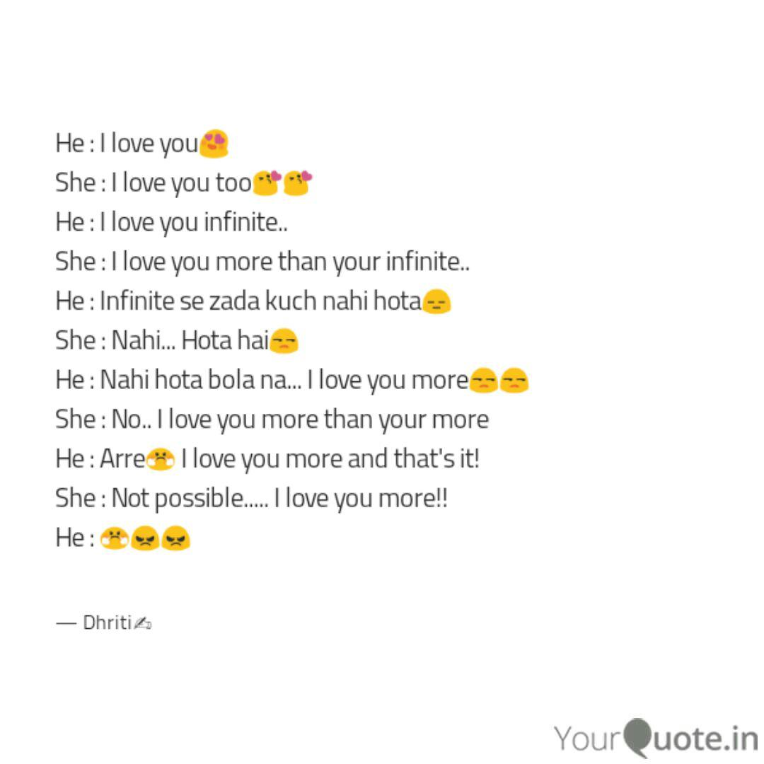 He I Love You She I Quotes Writings By Agarwal Dhriti Yourquote I even bought the tape. he i love you she i quotes