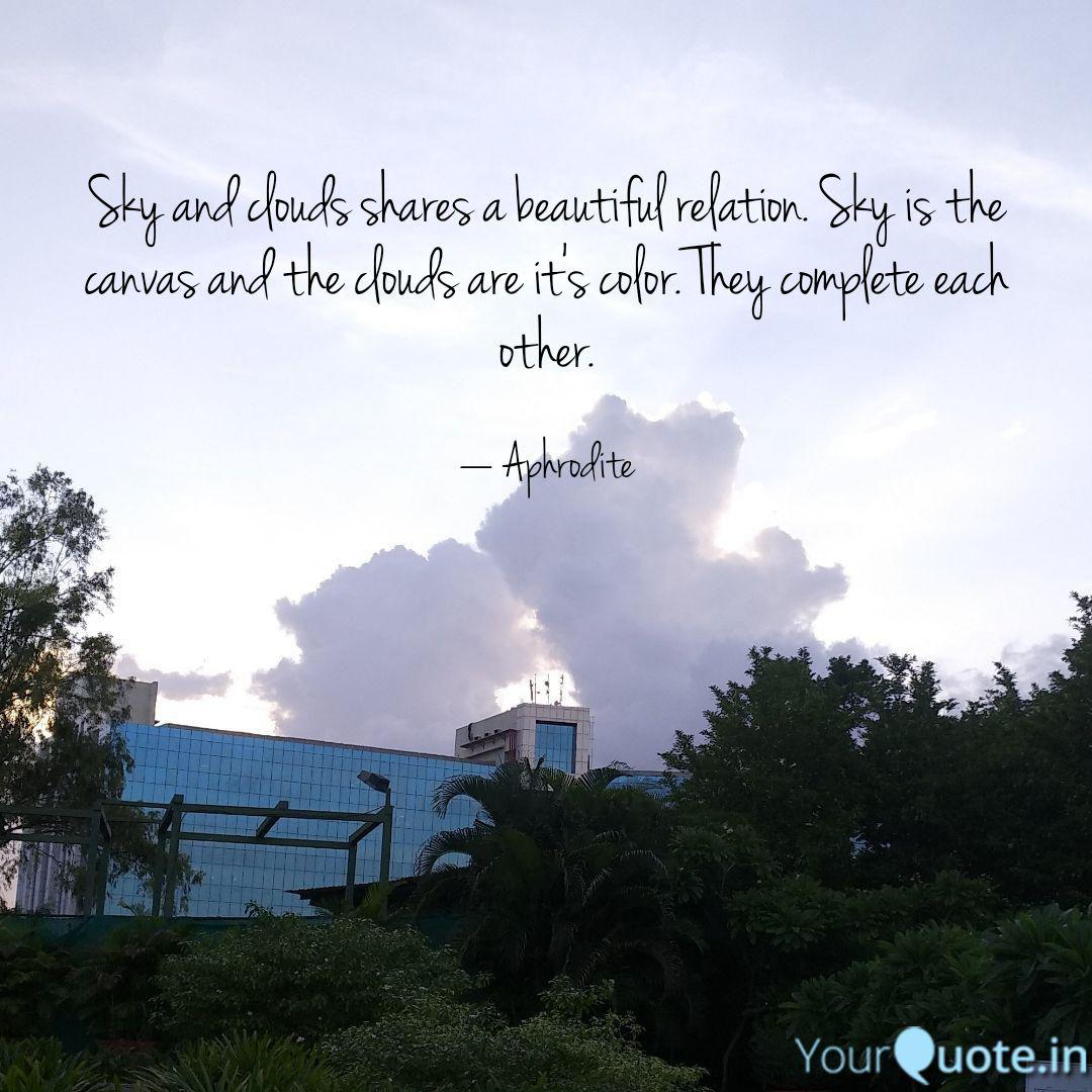 sky and clouds shares a b quotes writings by aditi apurva