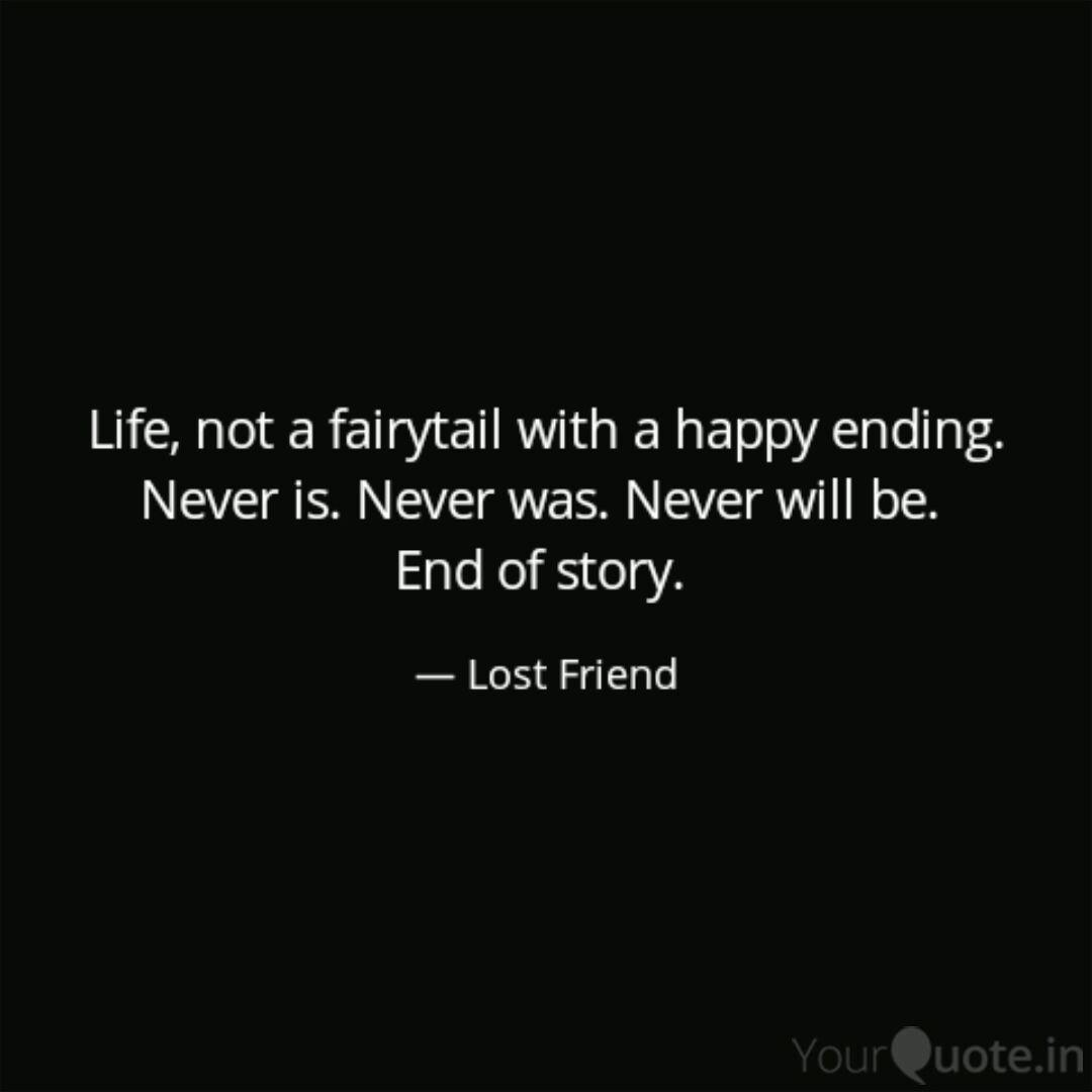 lost love (Lost Friend) Quotes | YourQuote