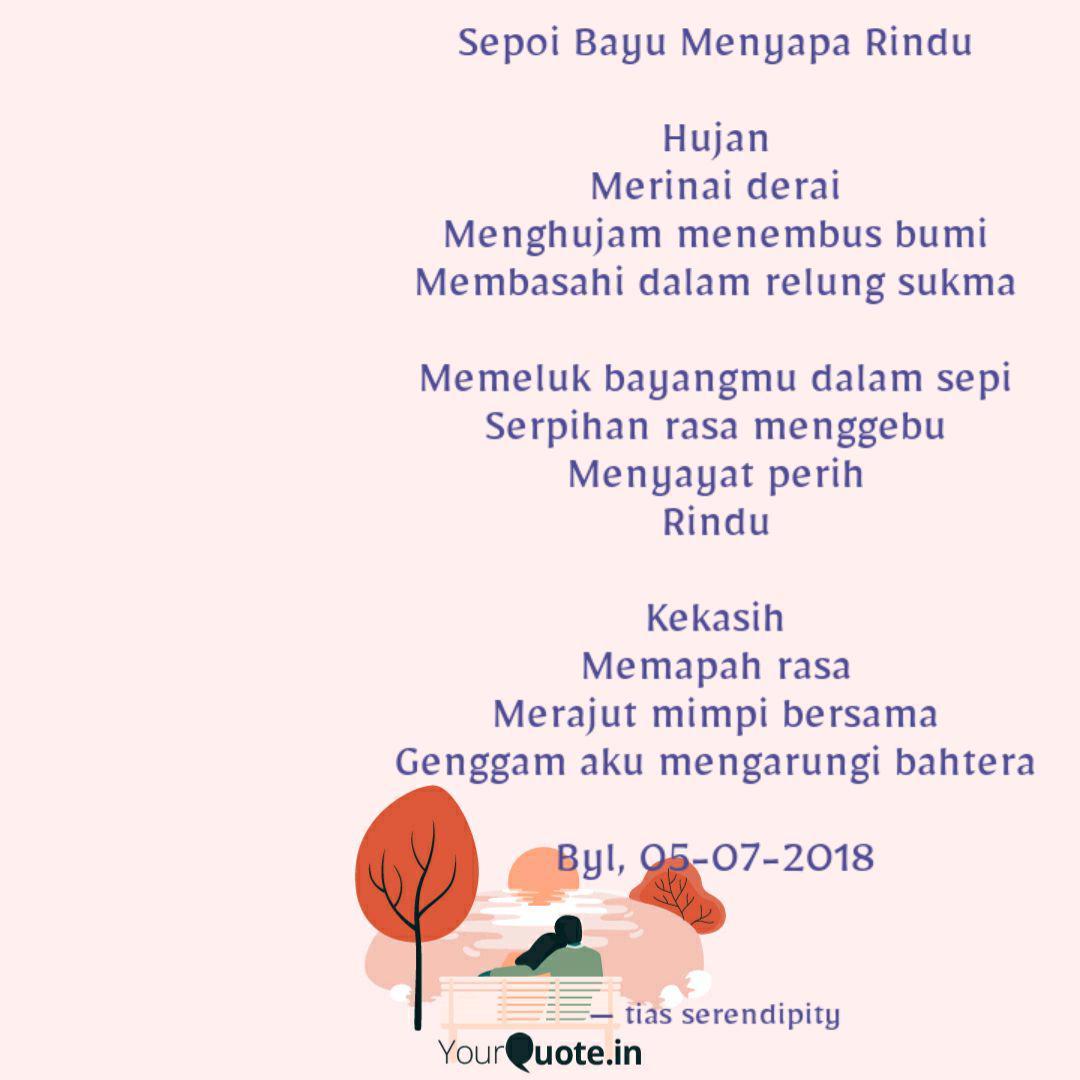 sepoi bayu menyapa rindu quotes writings by tias