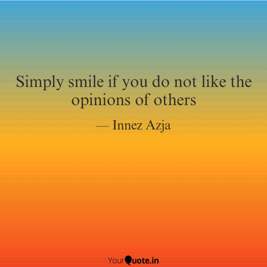 simply smile if you do no quotes writings by innez azja