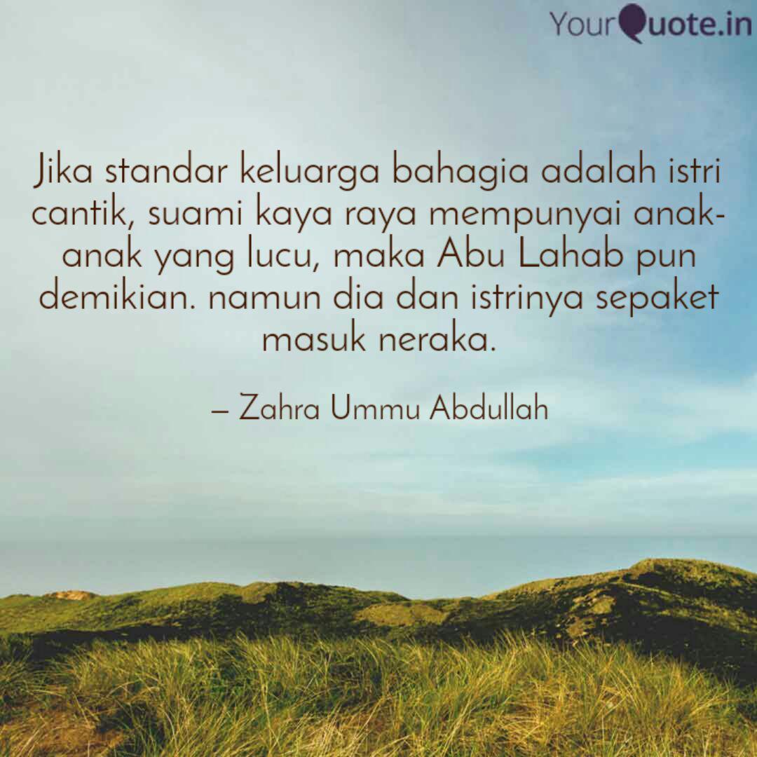 jika standar keluarga bah quotes writings by zahra ummu