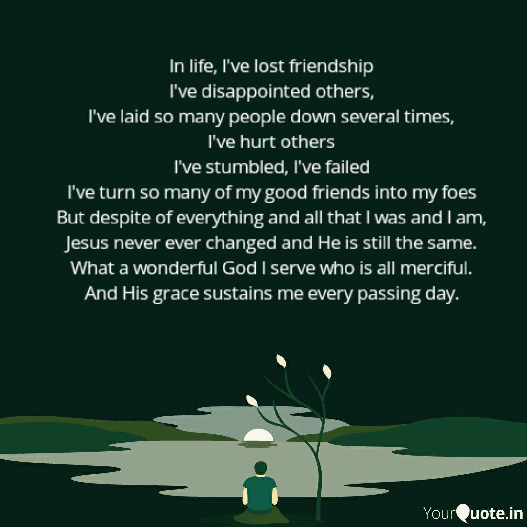In life, I\'ve lost friend... | Quotes & Writings by Sumi ...