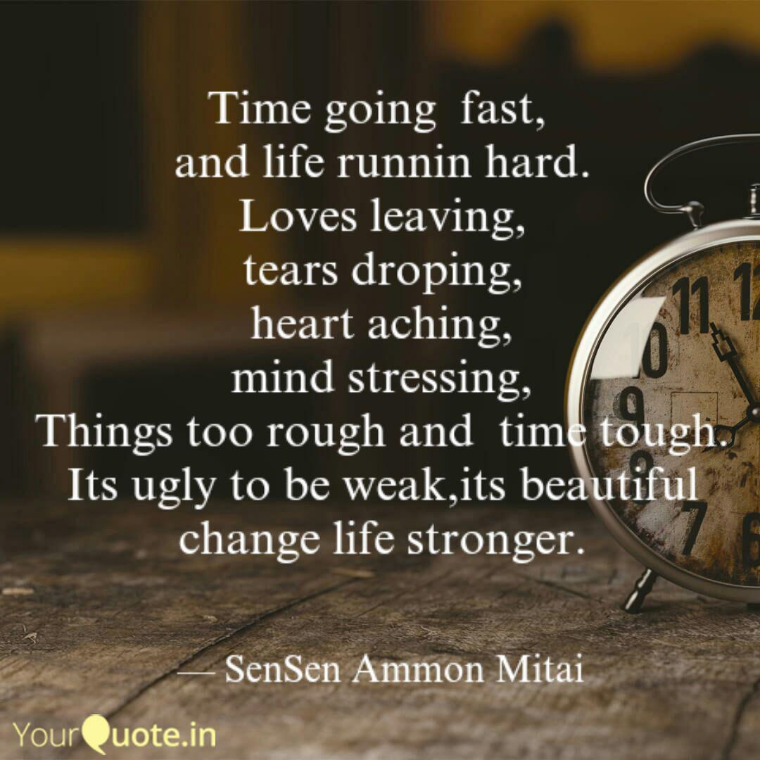 time going fast and li quotes writings by sensen ammon