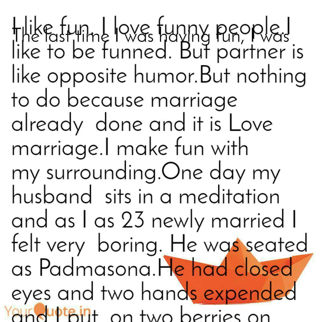 I Like Fun I Love Funny Quotes Writings By Mandira
