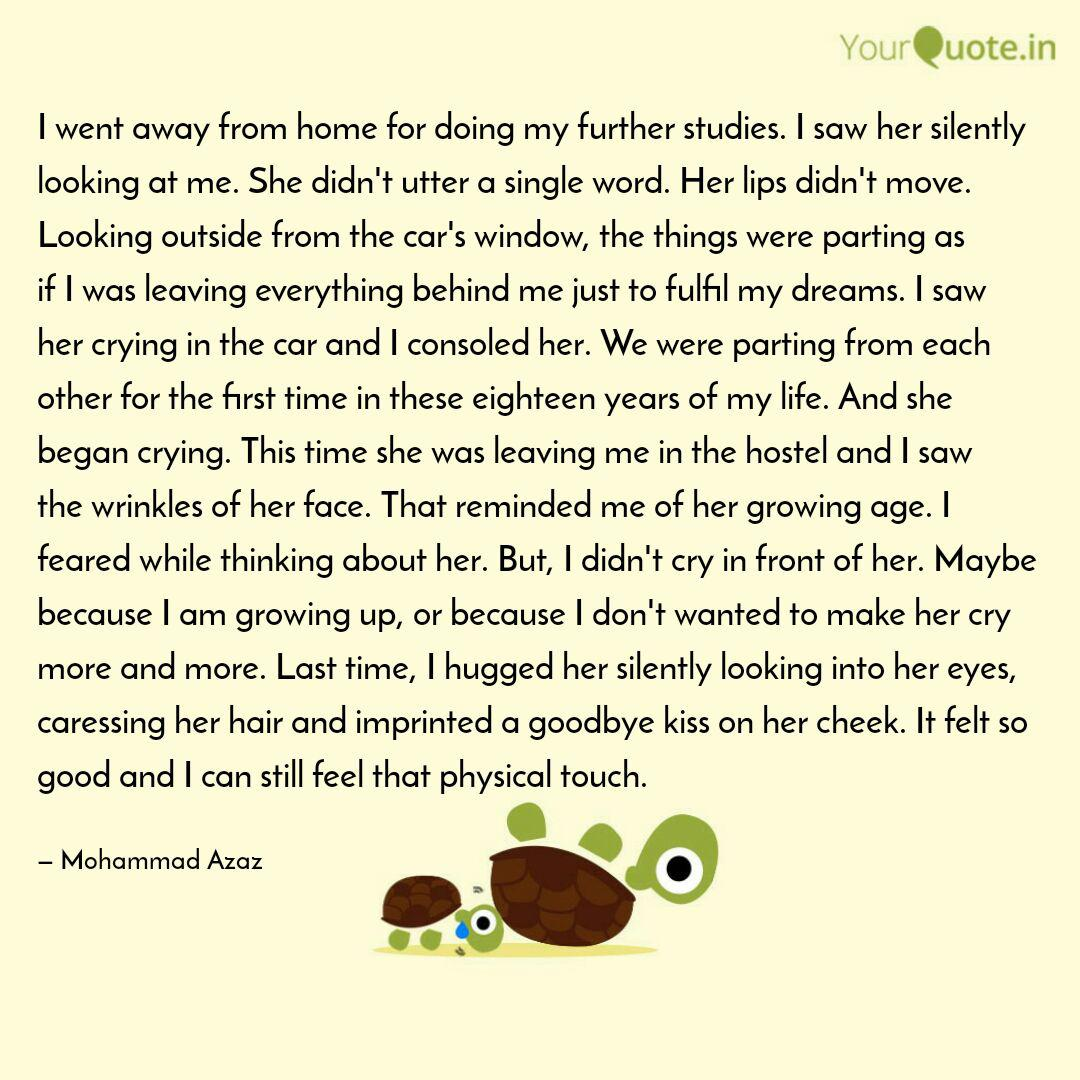 I went away from home for... | Quotes & Writings by Mohammad ...