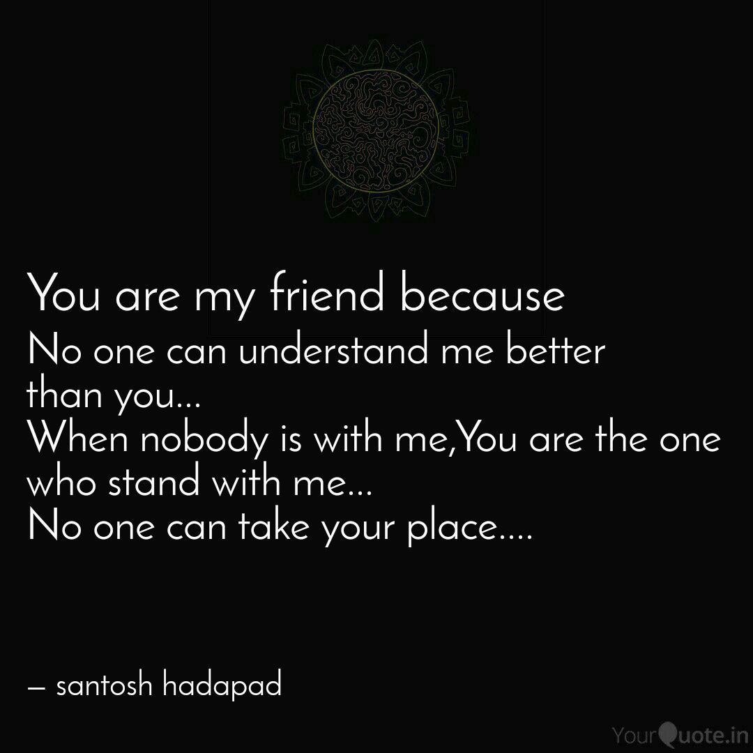 No One Can Understand Me Quotes Writings By Santosh Hadapad Yourquote