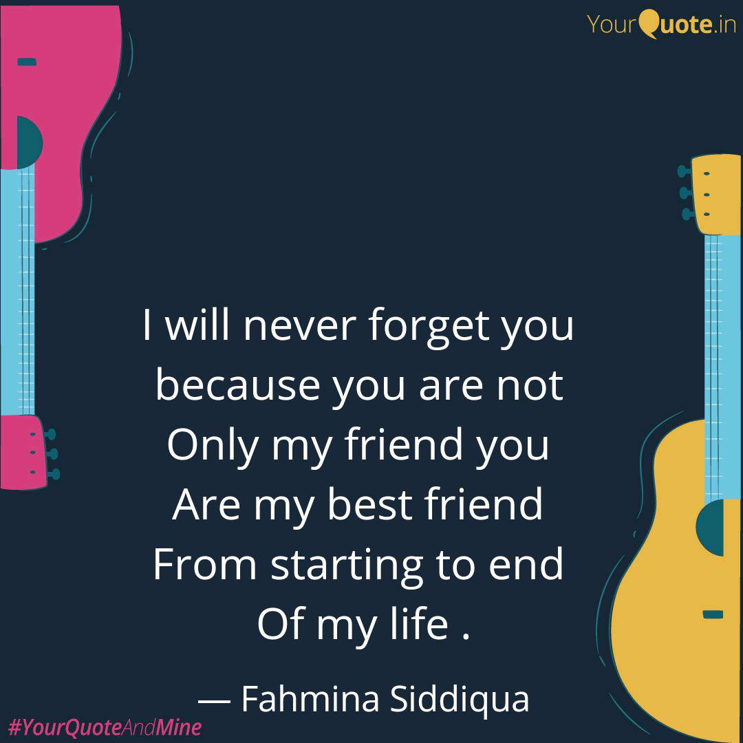 i will never forget you quotes writings by fuzaila a n