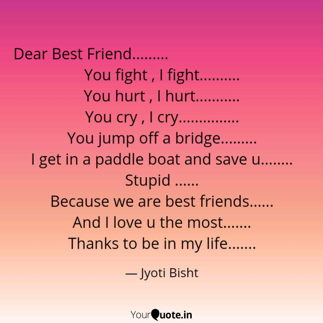dear best friend quotes writings by jyoti bisht