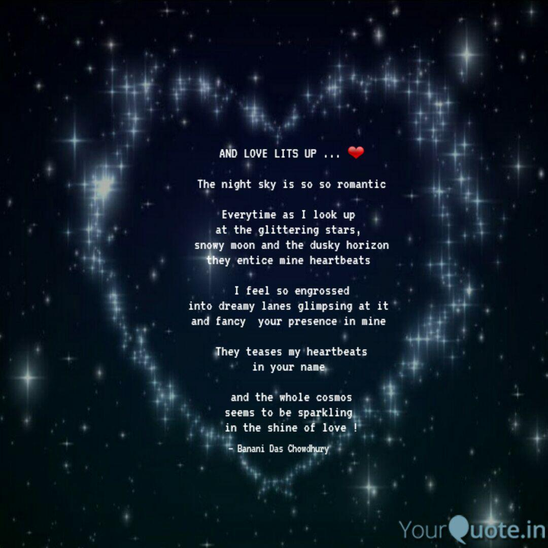 AND LOVE LITS UP  ❤ T  Quotes & Writings by banani das