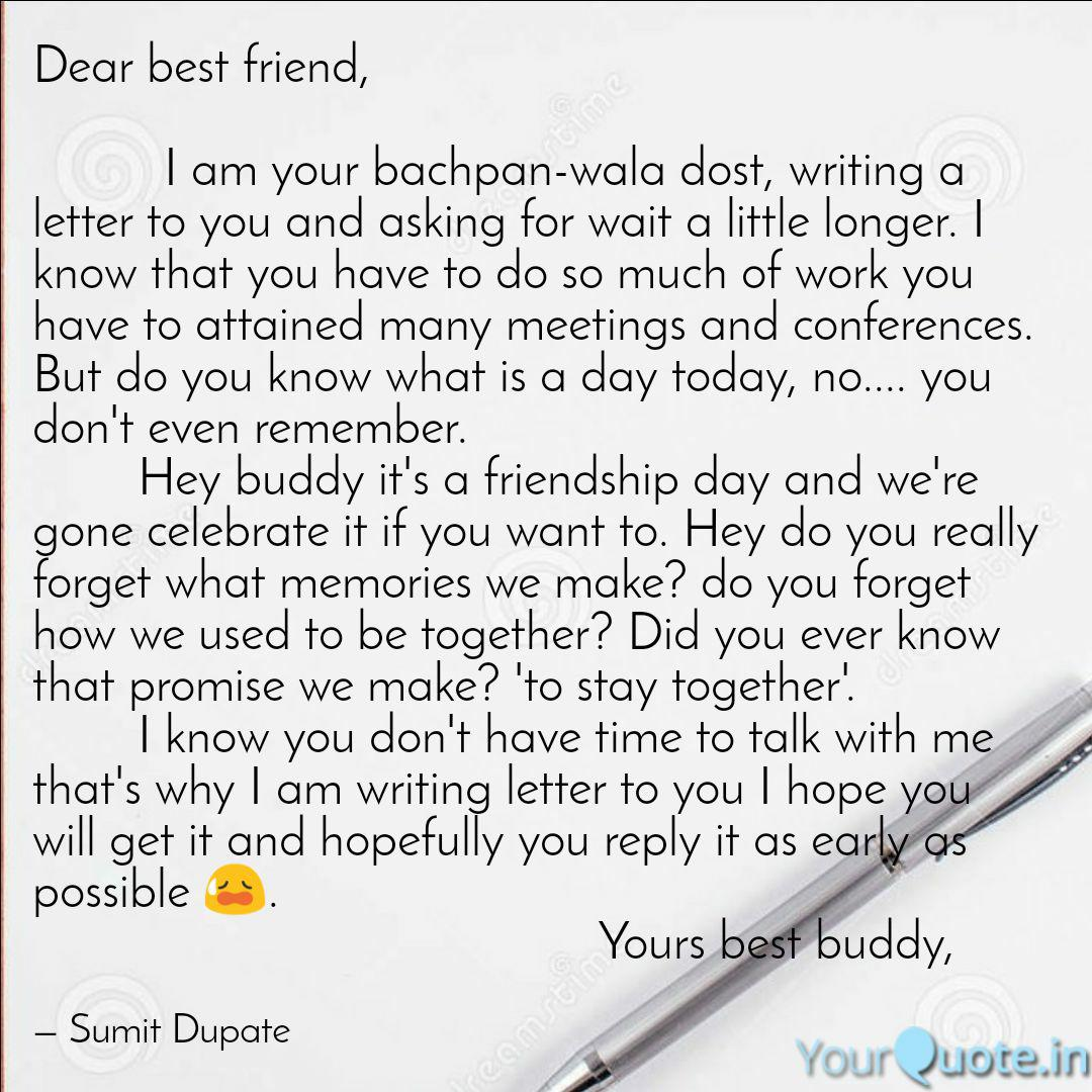 letter writing to friend  letter