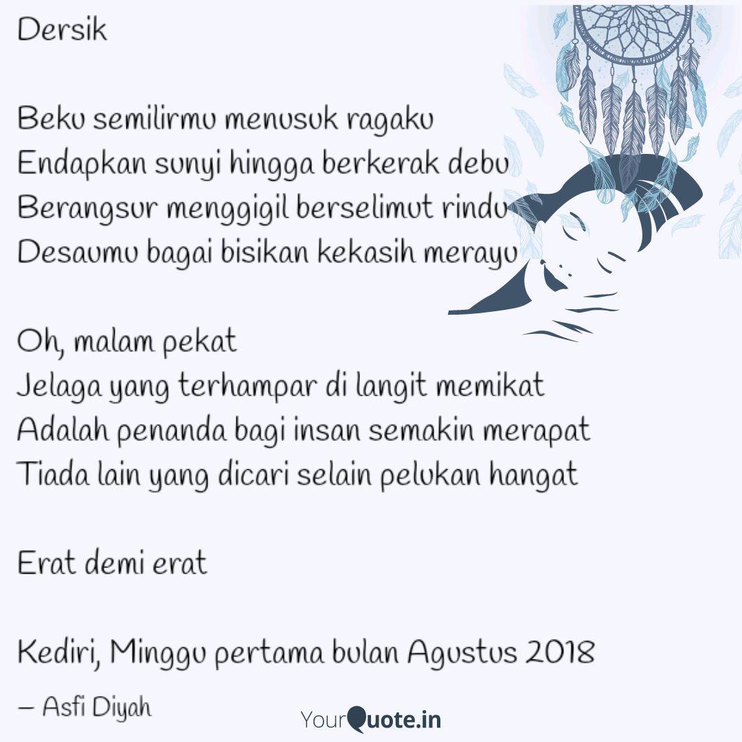 dersik beku semilirmu m quotes writings by asfi diyah