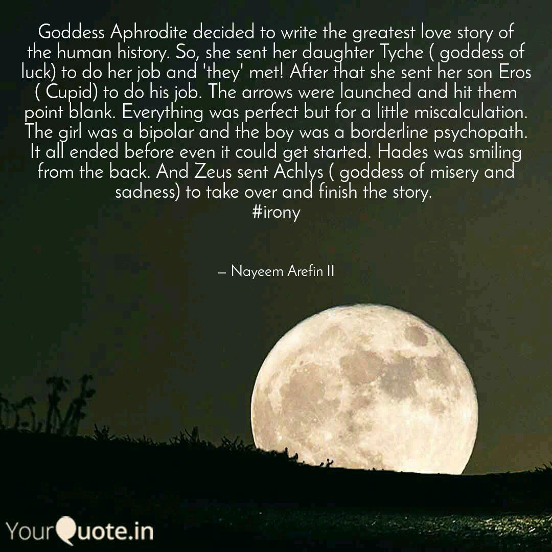 Goddess Aphrodite Decided Quotes Writings By Nayeem