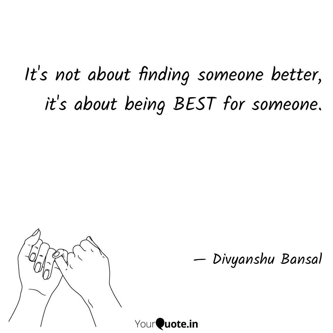It\'s not about finding so...   Quotes & Writings by ...