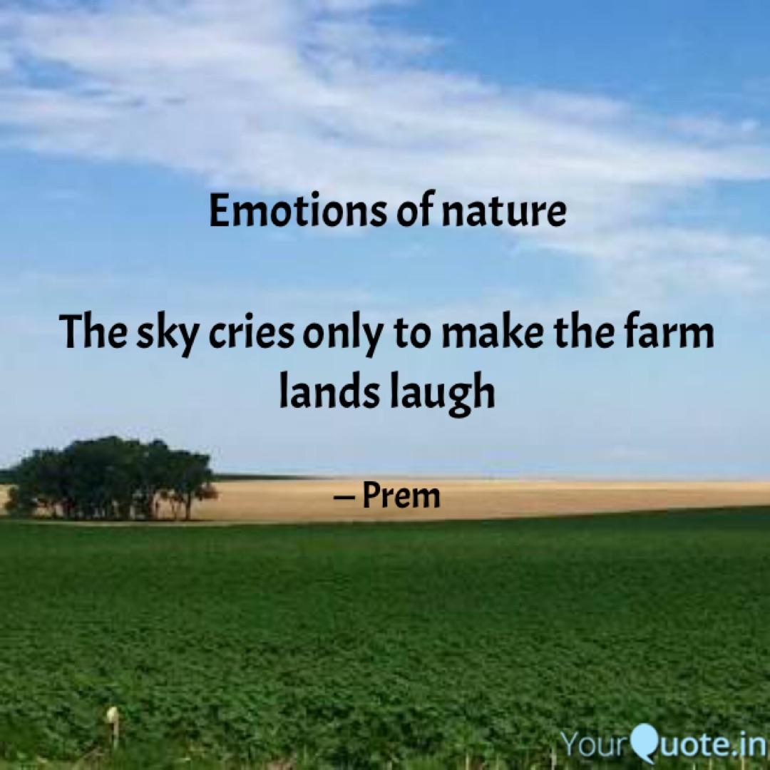 emotions of nature the quotes writings by d prem kumar