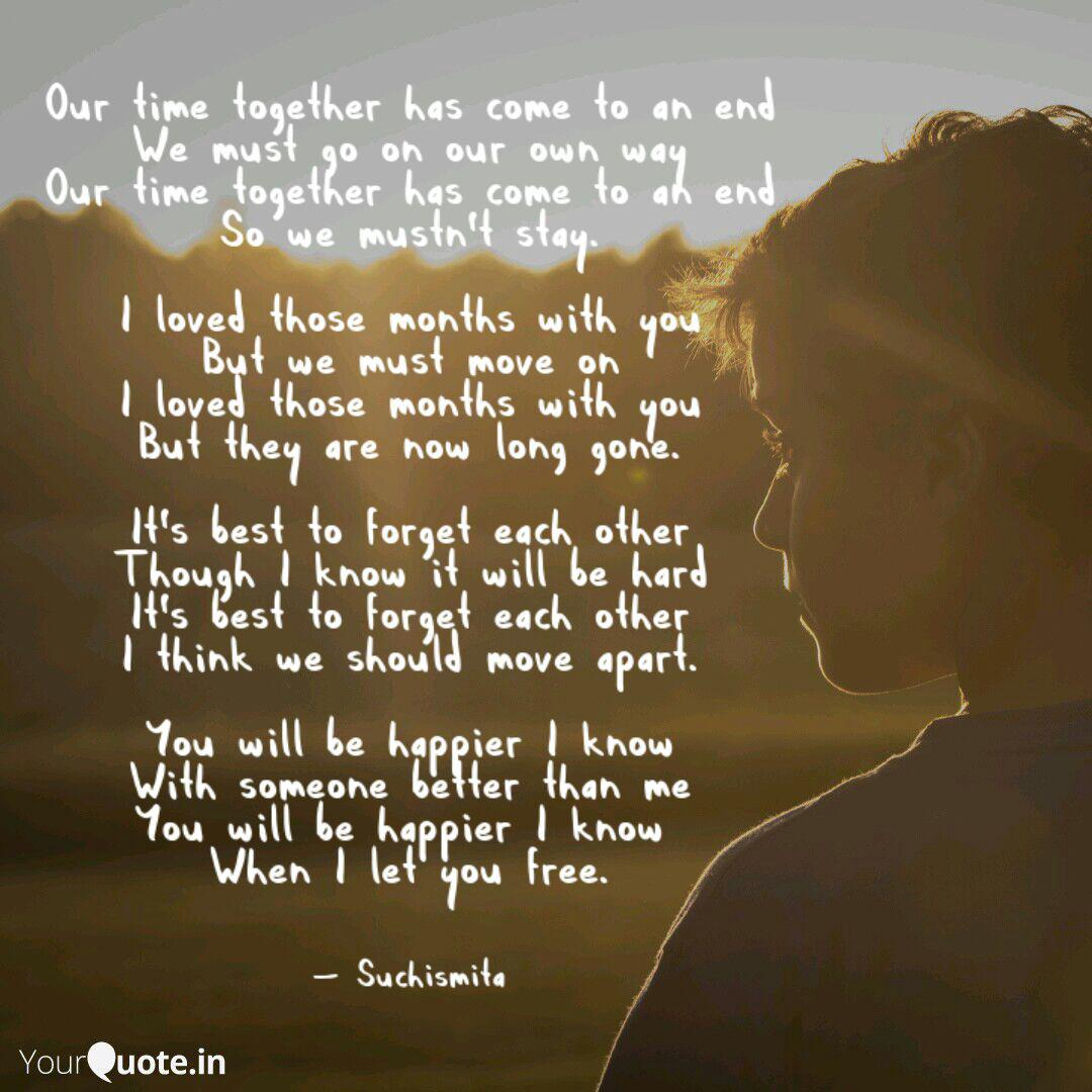 our time together has com quotes writings by suchismita