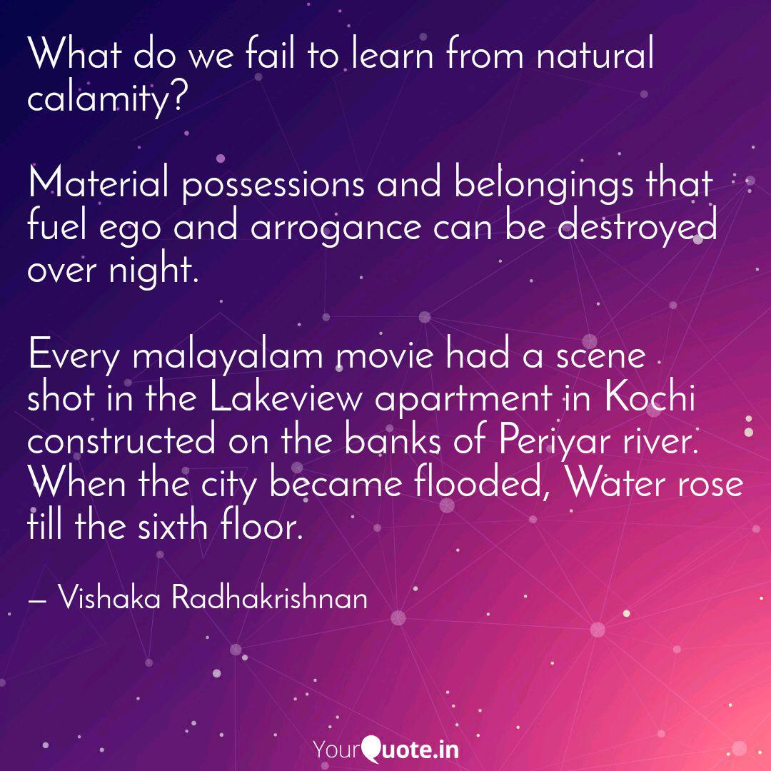 what do we fail to learn quotes writings by vishaka