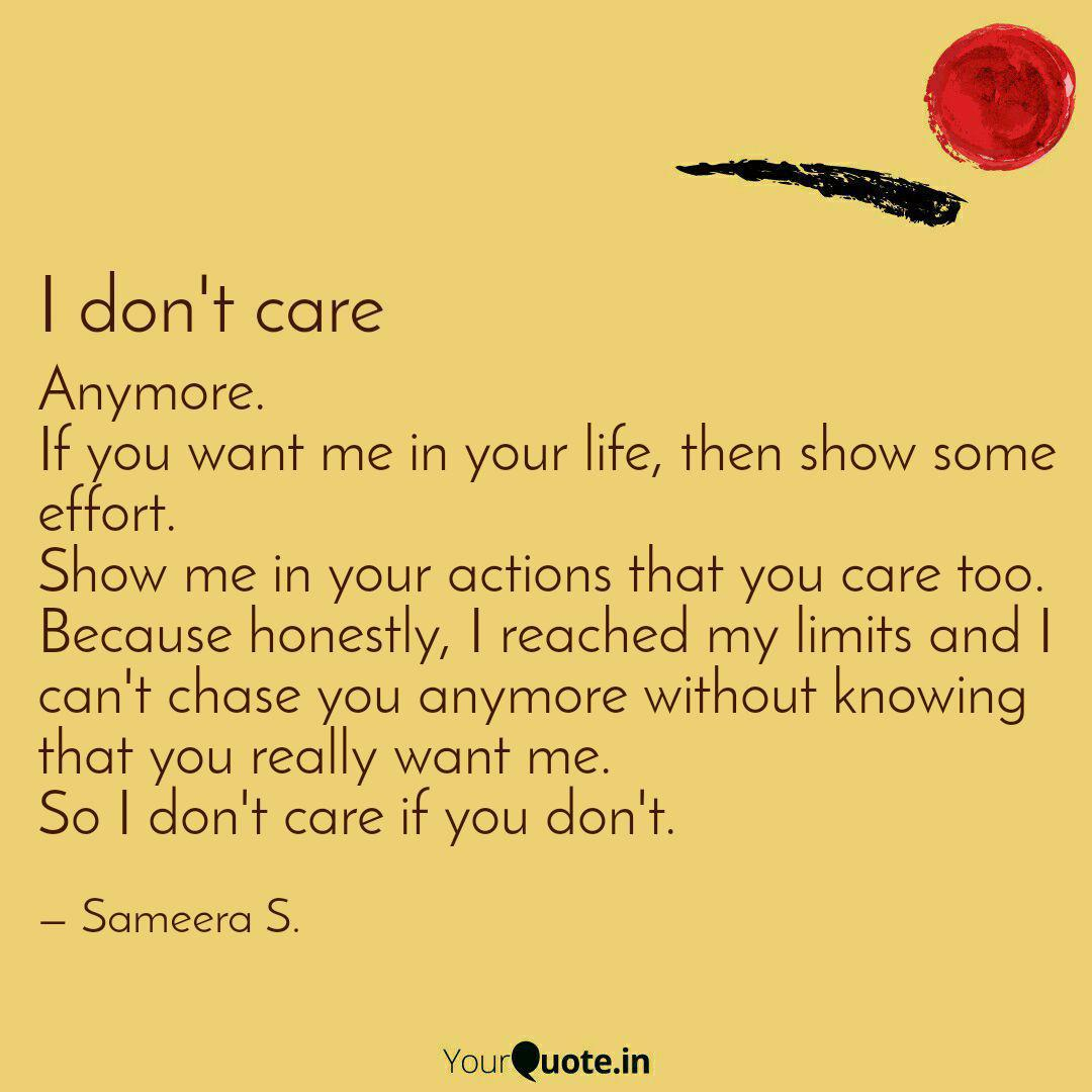 Anymore If You Want Me I Quotes Writings By Sameera Sawant